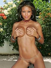 Teanna Kai - Backyard Stripping